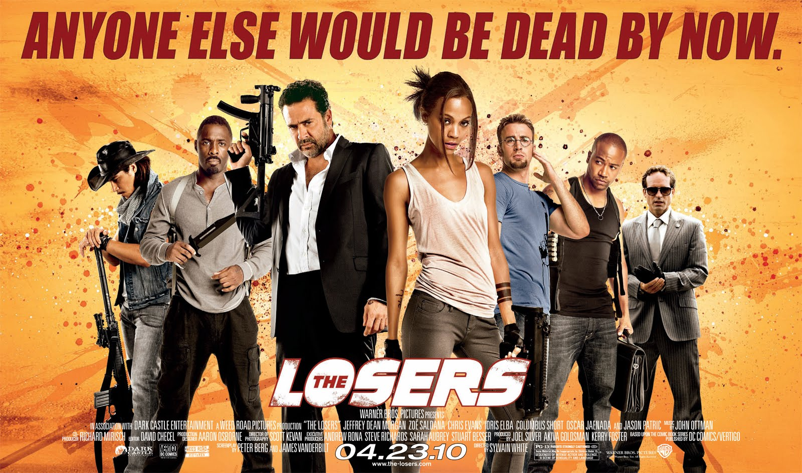 The Losers Film Kino Trailer