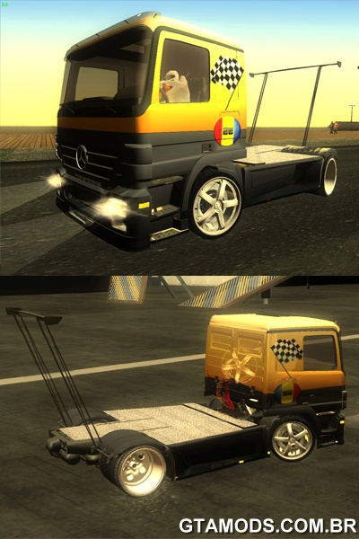 Mercedes-Benz Actros Dragster