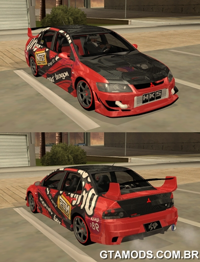 Mitsubishi Lancer Evolution VIII Dragon