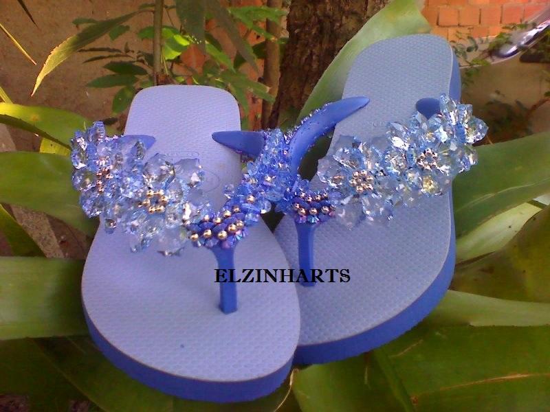Suficiente ELZINHARTS : sandalias havaianas decoradas AE49