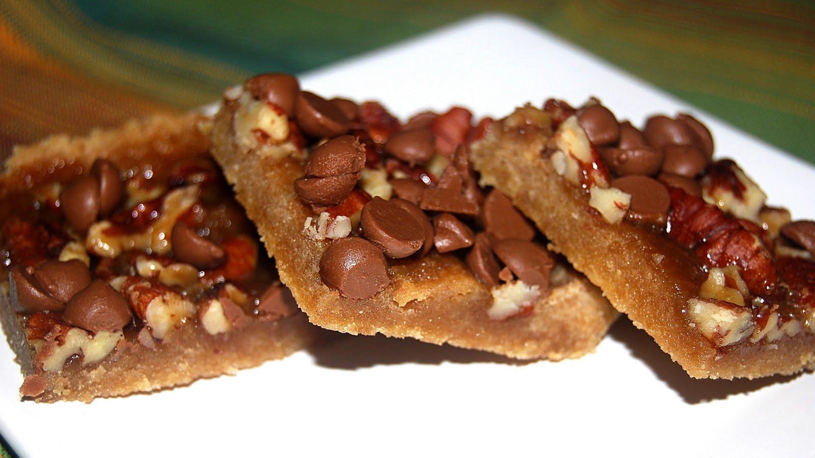 Toffee Squares Recipe — Dishmaps