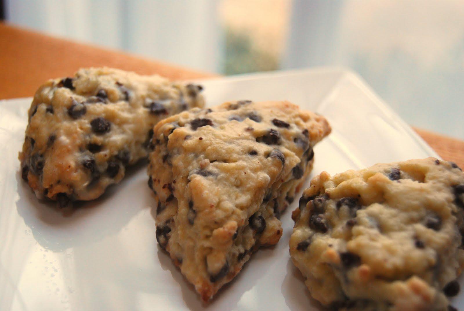 Mini Chocolate Chip Scones - Macaroni and Cheesecake