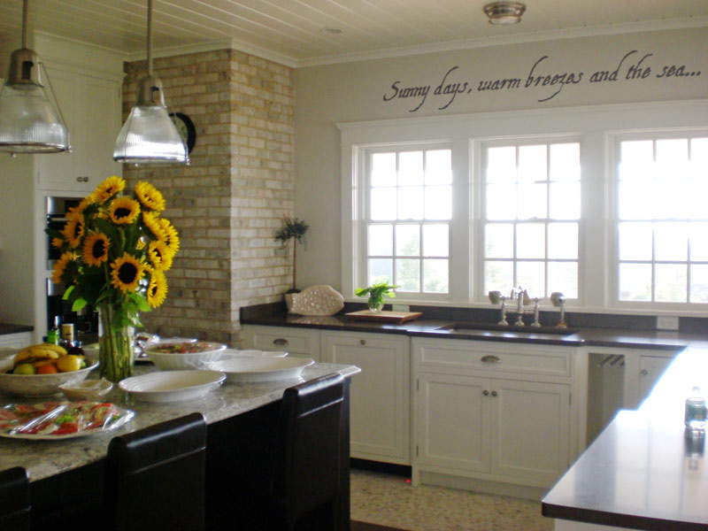 House Kitchens Simple Of Beach House Kitchen Decorating Ideas Photos
