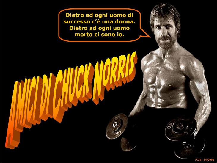 ||| AMICI DI CHUCK NORRIS |||Uno dei tanti blog italiani dedicati ai Chuck Norris Facts|||