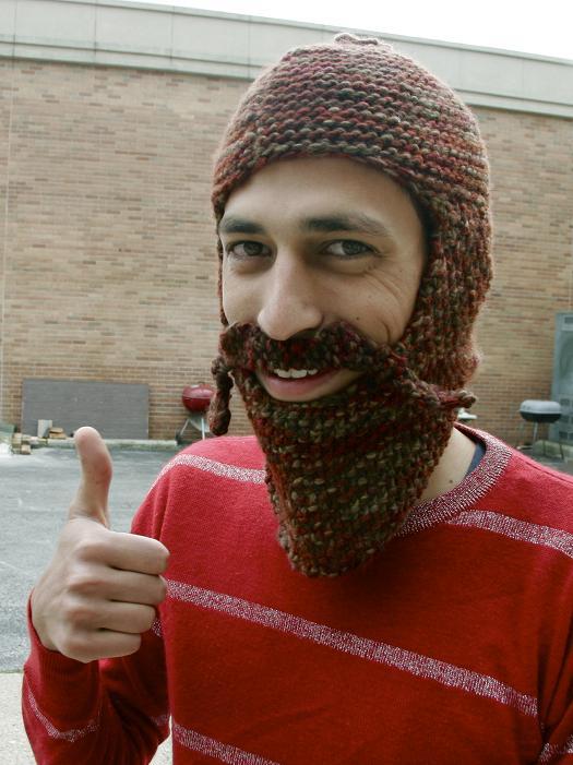Шапка с бородой = бородатые на голову.