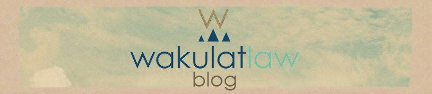 Wakulat Law Blog