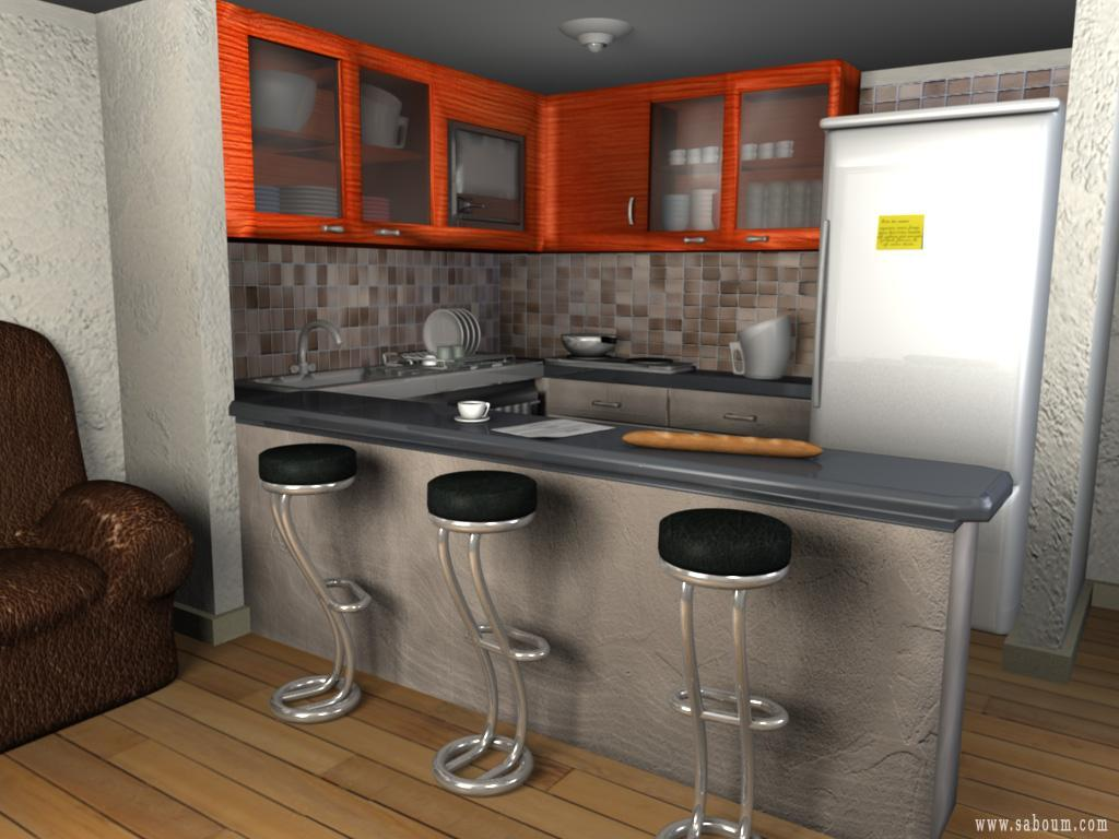 3d design un projet d 39 architecture for 3d cuisine deluxe