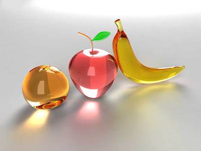 fruits wallpapers. Glass fruits wallpapers 1024 x
