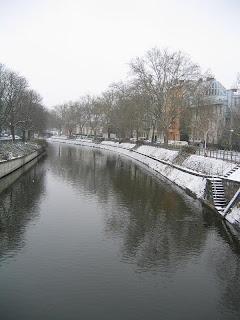 Spree-jokeen liittyvä kanava Berliinissä