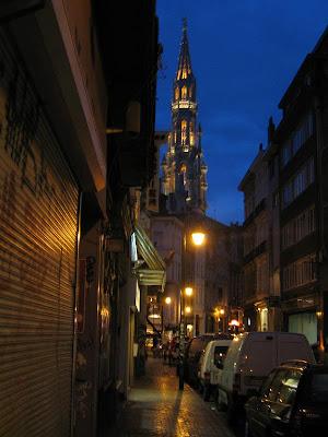 Autio katu Brysselissä