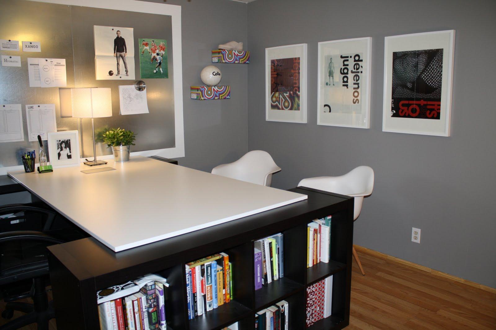 handycrafted home office. Black Bedroom Furniture Sets. Home Design Ideas