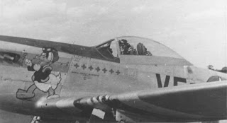 Capt. Donald R Emerson, Pembina ND. 336th Fighter Squadron. P-51D 44-13317 VF-B. Photo: D.F. Pierini