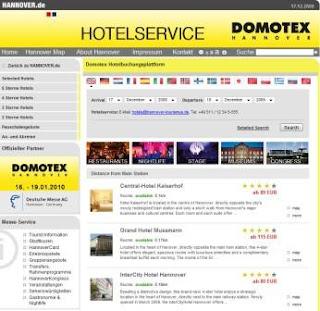 DOMOTEX HotelService