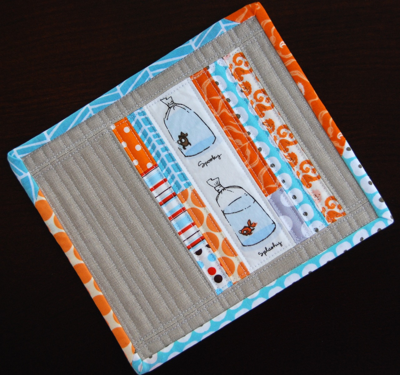 Pin. Sew. Press.: Fishy Mug Rugs