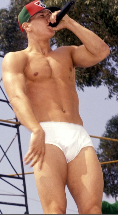 marky mark wahlberg. Marky Mark shirtless