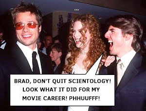 brad pitt tom cruise scientology