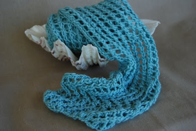 Churchmouse Yarns  Teas - Bias 'Before  After' Scarf
