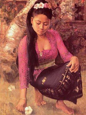ผู้หญิงสาวชาวพม่า