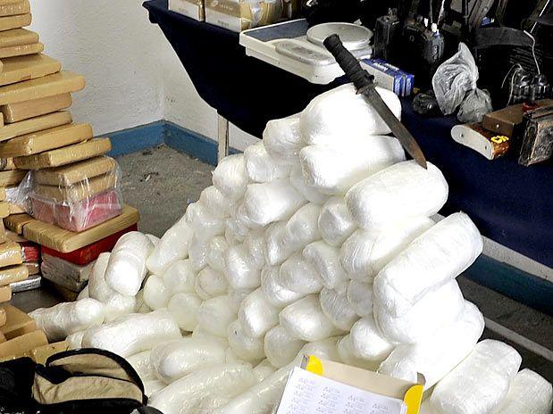 900 kg de cocaína