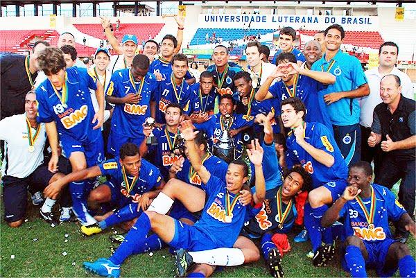 Cruzeiro é bicampeão brasileiro sub-20