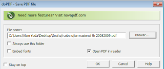 Convert Microsoft Word, Excel, PPT ke PDF