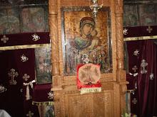 Icoana făcătoare de minuni - Dulcele Sărut - Mănăstirea Strâmba