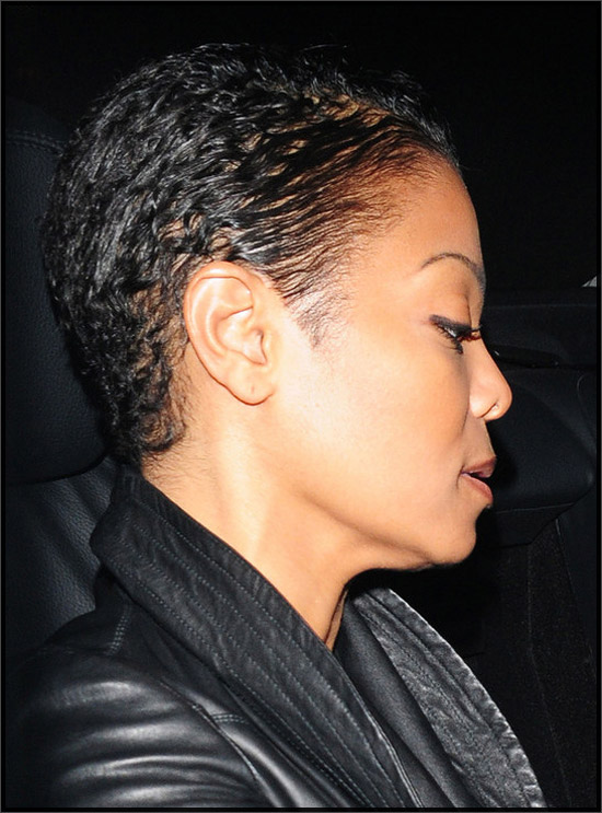 Sassy Janet Jackson S Super Short Haircut Hot Or Not Photos