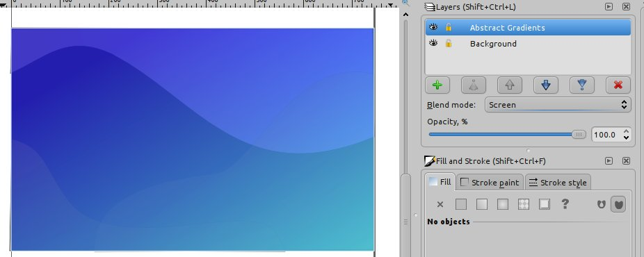 Creating a Desktop Wallpaper using Inkscape - Tutorial Geek