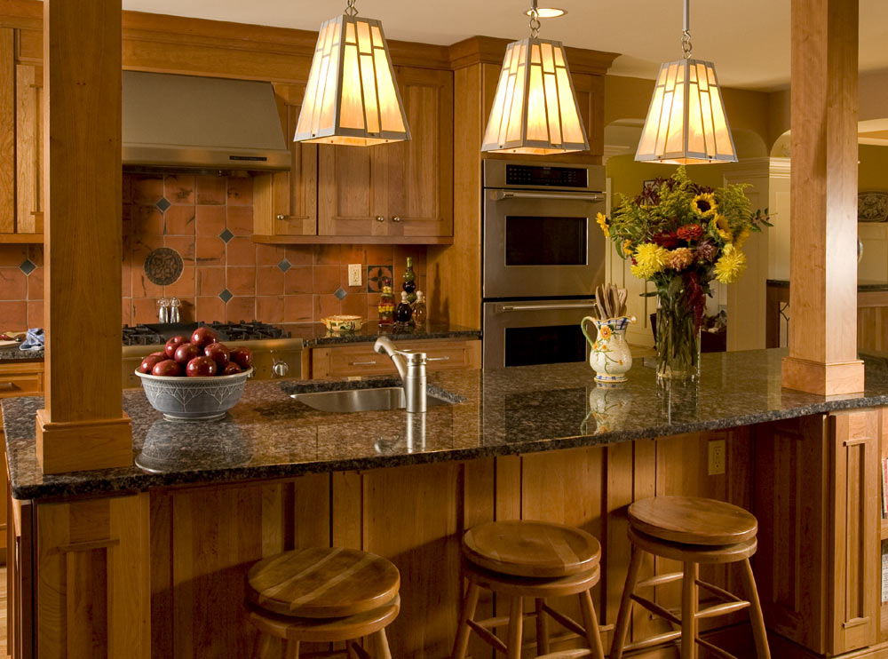 Lynn morris interiors lighting design for every room for Kitchen lighting design