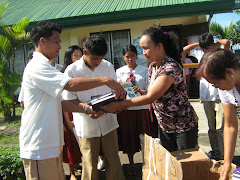 Sorting of Books from GFI Balikbayan Boxes