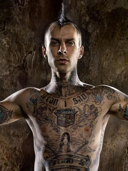 travis barker new