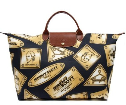 JP ON FASHION SPEED: Longchamp x Jeremy Scott Collab F/W 2010