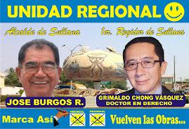 Señor JOSÉ ANTONIO BURGOS RAMOS, candidato a Alcalde por la Provincia de Sullana