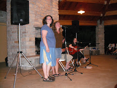 Trillium (plus!) once again on the stage -- the finale to Emily's Concert at Talltree Aboretum