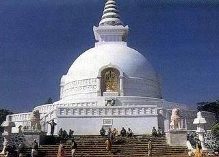 vishwa shanti stupa rajgir