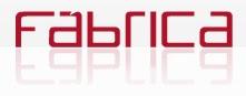 Logotipo da agência Fábrica Comunicação de Jacareí. Blog Publiloucos.