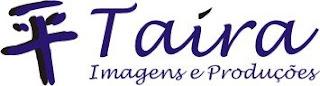 Logo da Taira Imagens e Produções. Blog Publiloucos.