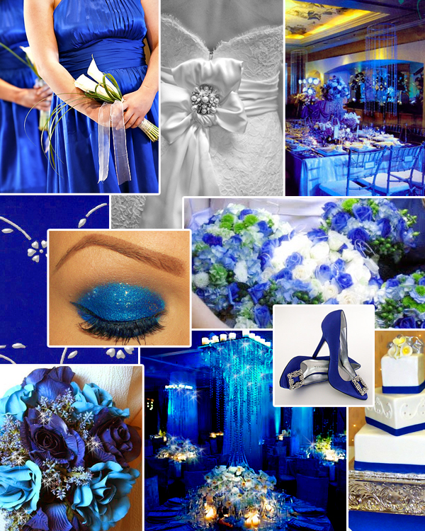 Wedding By Designs: Royal Blue Centerpieces My Dreaming
