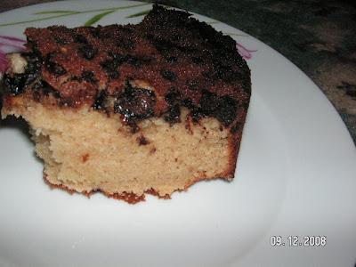 Şerbetli Damla Çikolatalı Üzümlü Çiçek Kek