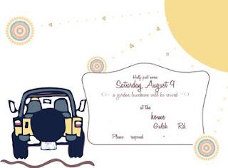 Invite - front