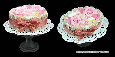 Handmade Miniature Charlotte - Marie Antoinette