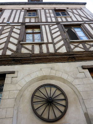 Half-timbered building at Compiègne