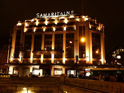 Samaritaine Department Store at Pont Neuf, Paris