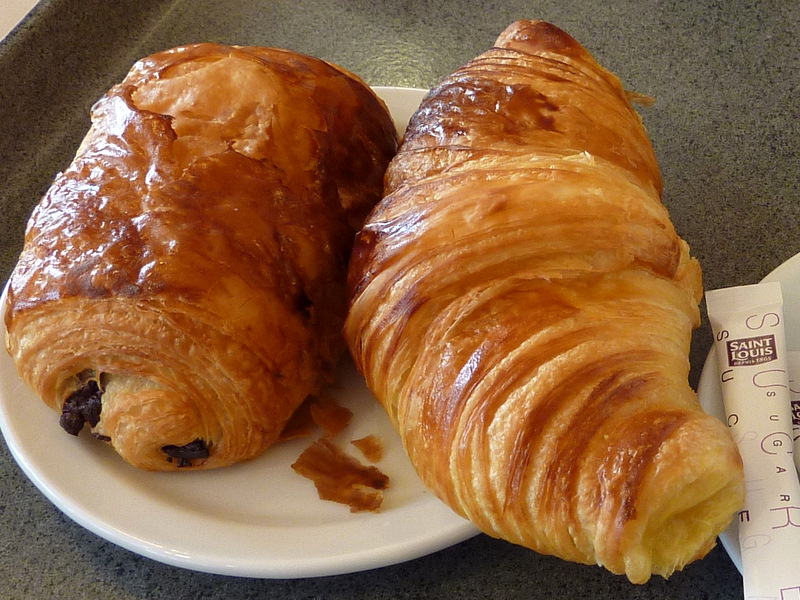 Superior Croissant Pain Au Chocolat #7: This Time Theyu0027re Real Ones!