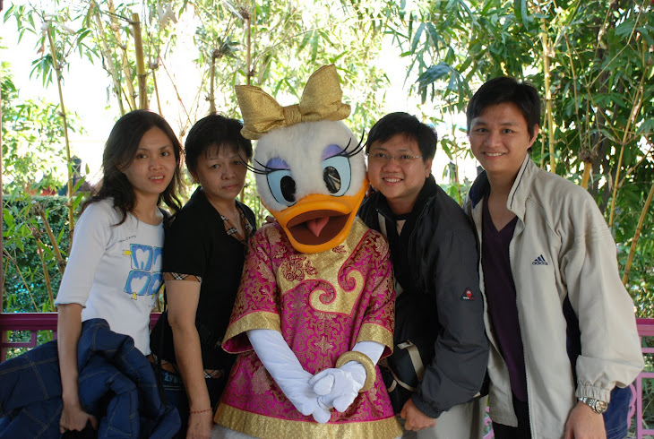 Family Shot With Daisy (Donald Duck's Wife)