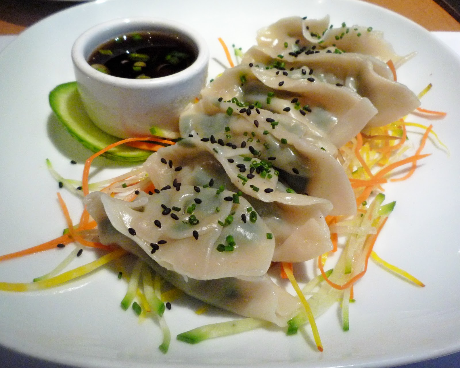chive pancake shrimp and chive dumplings appetite for china shrimp ...