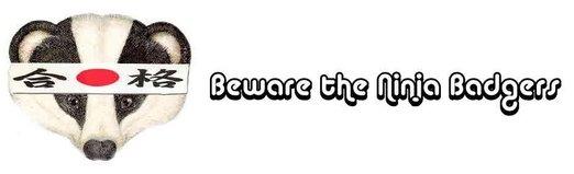 Beware the Ninja Badgers