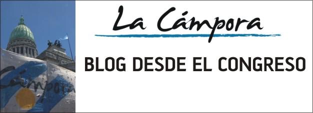 LA CÁMPORA LEGISLATIVA