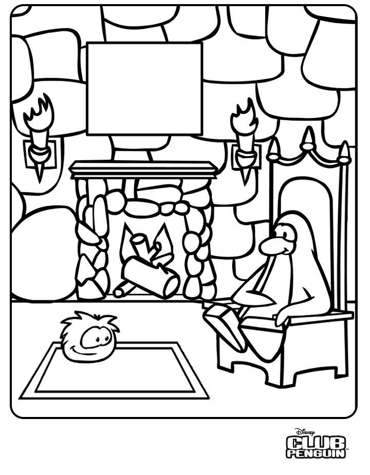 Dibujos para colorear e imprimir de club penguin imagui for Club penguin christmas coloring pages