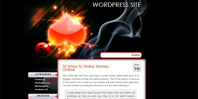 poker wordpress theme vector 70 Free Wordpress Templates